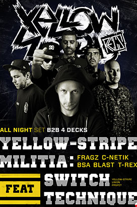Yellow-Stripe Militia Feat Switch Technique